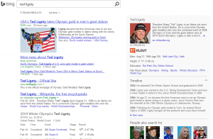 bing ted ligety search