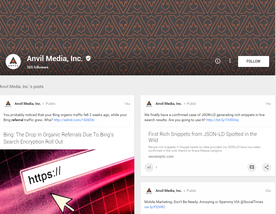 Updated Google+ setup for Local Businesses