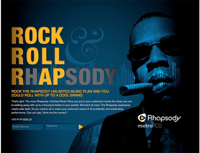 Rhapsody Website Development
