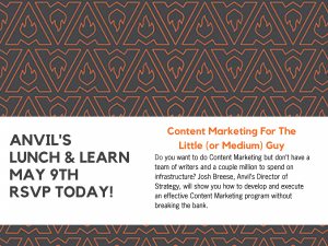 Anvil's Lunch & Learn