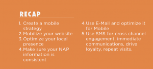 Overview of mobile marketing strategy process.