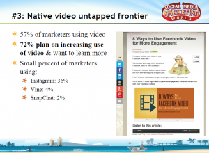 Native video stats.